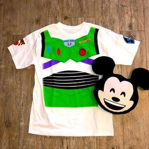 Disney | NWOT | Buzz Lightyear Tee Shirt + Pillow